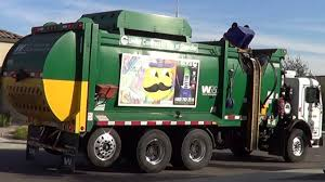 Waste Management: CNG Pete 320 / McNeilus ZR Garbage Truck - YouTube