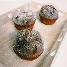 rezept haselnuss nutella muffins mit schokoladenkern