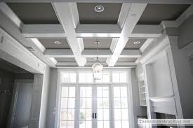 Tilton Coffered Ceiling Canada by Custom Made Coffered Ceiling Installation By The Finishing Loversiq