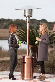 Amazon Fire Sense Copper Finish Commercial Patio Heater Portable Outdoor Heating Lawn Garden