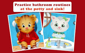 Caillou In The Bathtub by Daniel Tiger U0027s Stop U0026 Go Potty Android Apps On Google Play