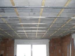 rail faux plafond isolation idées