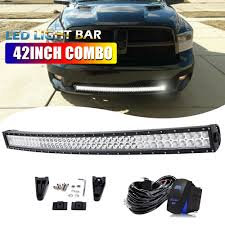 100 Light Bar Truck 42 2880W Curved CREE LED For Dodge Ram 1500 2500