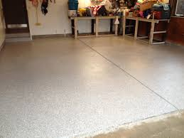 100 Solids Epoxy Floor Coating by Transformations Before And After Buckeye Epoxy Flooring