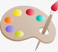 Drawing Painting Palette Clip Art