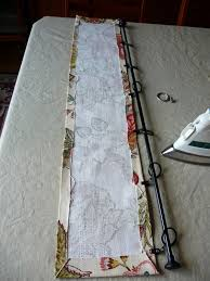 Making Curtains For Traverse Rods by No Sew Hanging Valance Tutorial Valance Tutorial Valance And