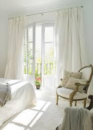gardinen für balkontür lassen den raum einheitlich erscheinen