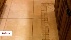 dallas s ceramic tile floor takes on a total transformation