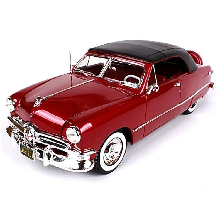 Maisto 1950 Ford Diecast Vehicle Car Model Kit - 1:18 Scale