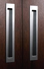 Door Handle door pulls Bi Fold Flush Door Pulls The Decoras