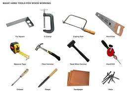Timber Vector Icons Stock Lumberjack Woodworking Tools Clipart Nail Engineering Tool Pencil And In Color