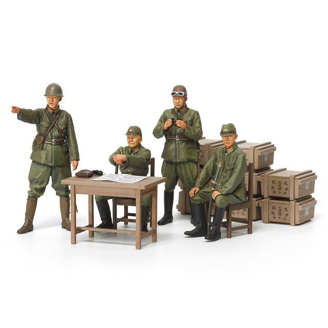 Tamiya 35341 Japanese Army Officer Model Kit - 1:35 Scale