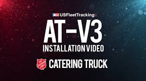 Salvation Army Catering Truck - US Fleet Tracking AT-V3 Install ...