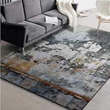 teppich modernen minimalistischen grauen boden mit