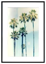 California Palm Trees Framed Art Print Southern Dying