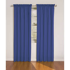 Black Sheer Curtains Walmart by Eclipse Dayton Blackout Energy Efficient Kids Bedroom Curtain