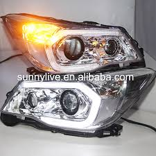 2013 2014 year for subaru forester led lights l front
