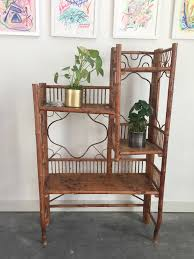 Antique Victorian Era Folding Bamboo Shelf. — ReRunRoom | Vintage Furniture  + Home Decor Victorian Bamboo Folding Screen The Annual Singapore Design Week Is Back With Over 100 Vtg Pair Parzinger Rattan Woven Chair Regency Victorian Design Mirror Antique Bamboo 3 Tier Table In Rh11 Crawley For Folding Campaign Chair Hoarde Az Of Fniture Terminology To Know When Buying At Auction French Colonial Faux Restoration Project C1900 Walnut Deck Circa A Guide Buying Vintage Patio Fniture V Studio Forest On The Roof Divisare