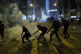 100 Nearest Ta Truck Stop As It Happened 16 Hours Of Violence In Hong Kong Continue