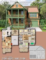 100 Architectural Design For House Plan 31544GF Lovely 4Bedroom Plan With Stacked Porches And A
