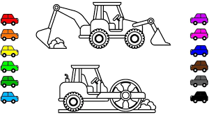 100 Construction Truck Coloring Pages Excavator Page Beautiful Dump And Crane
