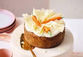 nuss karotten torte mit weißer schokolade