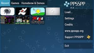 PPSSPP PSP emulator miniatura de captura de pantalla