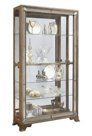 Pulaski Furniture Curio Cabinet pulaski keepsake golden oak furniture edwardian armoire bedroom