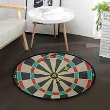 de mnsruu vintage hitting target dart teppich rund