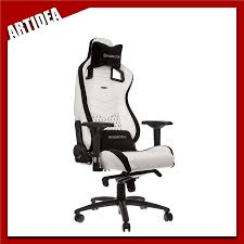 ^ Noblechairs EPIC Gaming Chair - White | NBL-PU-WHT-002 | ARTIDEA Noblechairs Epic Gaming Chair Black Npubla001 Artidea Gaming Chair Noblechairs Pu Best Gaming Chairs For Csgo In 2019 Approved By Pro Players Introduces Mercedesamg Petronas Licensed Epic Series A Every Pc Gamer Needs Icon Review Your Setup Finally Ascended From A Standard Office Chair To My New Noblechairs Motsport Edition The Most Epic Setup At Ifa Lg Magazine Fortnite 2018 The Best Play Blackwhite