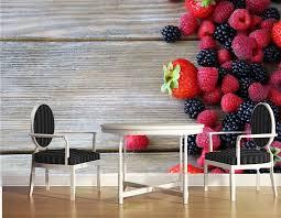 kundenspezifische wandbilder berry raspberry blackberry boards lebensmittel tapete esszimmer schlafzimmer fernseheinstellungswand papel de parede
