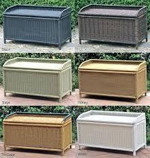 Unique Patio Storage Bench For Outdoor Storage Bench Beach Style