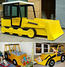 100 Dump Truck Toddler Bed Choc Banana PB Bites Random Shit Kid Beds Bunk Beds Boys