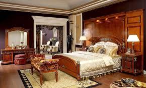 schlafzimmer wandverkleidung holz barock rokoko antik stil rückwand für betten