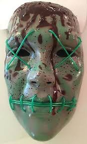 The Purge Halloween Mask Ebay by The Purge Election Year Rave Mask Party Festival Halloween