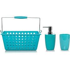 Teal Color Bathroom Decor by Paradise Blue Bathroom Accessories Bathroom Accessories George