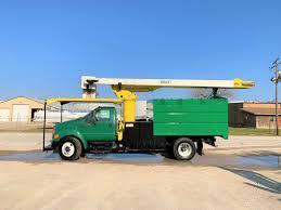 100 Forestry Bucket Trucks 2007 Ford F750 FORESTRY BUCKET TRUCK City TX North Texas Equipment
