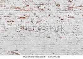 Red White Wall Background Old Grungy Brick Horizontal Texture Brickwall Backdrop Stonewall