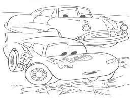 Lightning Mcqueen Coloring Sheets