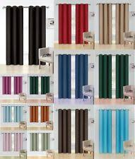 Grommet Insulated Curtain Liners by Blackout Curtains Ebay