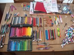 My Art Supplies By Lumaeya