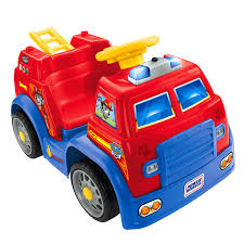 100 Fisher Price Fire Truck Ride On Power Wheels PAW Patrol