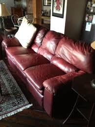 philadelphia berkline reclining dark red leather sofa set 775