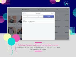 Happy Birthday Email Discounts