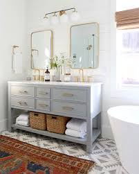33+ Colorful And Fun Kids Bathroom Ideas To Brighten Up Your Home ... Vintage Bathroom With Blue Vanity And Gold Hdware Details Kids Bathroom Ideas Unique Sets For Kid Friendly Small Interiors For Blue To Inspire Your Remodel Ideas Deluxe Little Boys Design Youll Love Photos Cute Luxury Uni 24 Norwin Home Decorations Bedroom White Wall Paint Marble Glamorous Awesome 80 Best Gallery Of Stylish Large 23 Brighten Up Childrens Commercial Pink Modern Very Sink