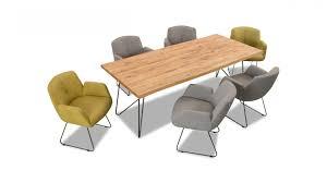 willi schillig 6x stühle 11800 stuhlsystem in leder z78 lime