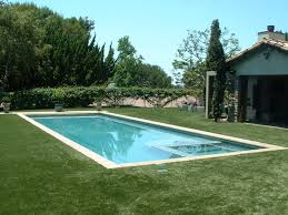 Tuscan Rectangle With Automatic Pool Cover Precast Concrete Coping Stones Glass Tile And