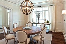 Transitional Console Tables Dining Room Table Ideas With Natural Rug Cage Chandelier Home Decor India