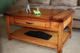 coffee tables appealing simple free diy coffee table plans