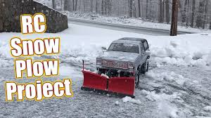 100 Rc Truck Snow Plow Your Driveway With An RC RC4WD Super Duty V Install RC Driver